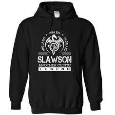 Awesome Tee SLAWSON - Surname, Last Name Tshirts T shirts