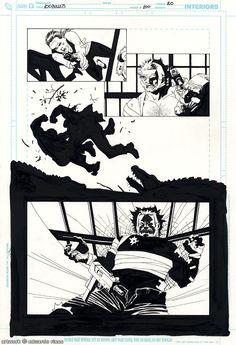 100 Bullets #100 pg.20 Comic Art