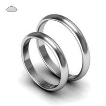 Обручальные кольца из белого золота на заказ | Свадебные кольца белое золото…