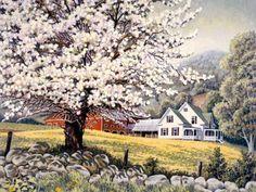 'Apple Blossom Time' by John Sloane