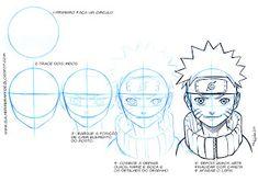Goku Drawing, Manga Drawing, Goku Face, Naruto Drawings, Sketches Tutorial, Drawing Expressions, Naruto Shippuden Anime, Dope Art, Drawing Skills