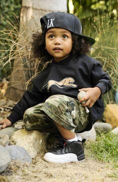 oh please please please, I hope my son Mekais hair turns like this!