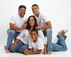 family photography poses in studio - Google Search
