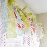Cute no sew valance && cheap! Great for when you're just getting out on your own! :)