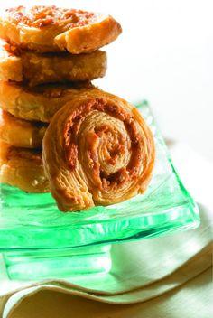 Parmesan Pinwheels Recipe #GamedayParmesan