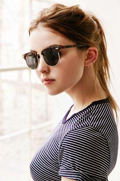 Skylar Half-Frame Sunglasses - Urban Outfitters