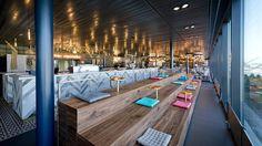 Autogrill Schweiz – Restaurant/Bar «Le Chef» Genf. Generalunternehmung by retailpartners ag. Restaurant Bar, Restaurant Design, Bar Design, Le Chef, Architecture, Restaurants, Table Decorations, Furniture, Home Decor