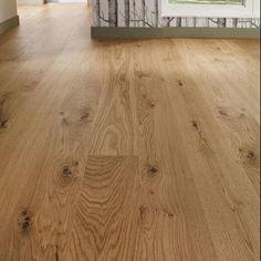 Real Wood Oak = Howdens (engineered) approx per sqm Engineered Oak Flooring, Kitchen Flooring, Vinyl Plank Flooring, Timber Flooring, Real Wood Floors, Hardwood Floors, Cornwall, New Homes, Flats