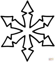 Snowflake | Super Coloring