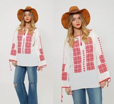 Hey, I found this really awesome Etsy listing at https://www.etsy.com/listing/265218006/vintage-70s-embroidered-peasant-top
