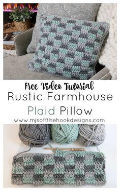 Crochet Pillow Cases, Crochet Cushion Cover, Crochet Pillow Pattern, Crochet Cushions, Afghan Crochet, Quick Crochet Patterns, Crochet Designs, Easy Crochet, Free Crochet