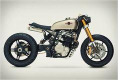 beautifull, creative, design, engine, industrial, machine, motorcycles,Honda KT600 by Classified Moto