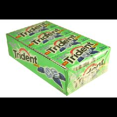 Buy Trident Gum Minty Sweet Value Pack Sugar Free 18 Pieces, For more info:http://jcandy.net/chewing-gum/adams/trident-layers-trident-splash-trident-white-trident-value-pack.html