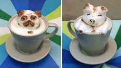 My Homemade 3D Latte Art