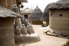 Africa | Located in the North of Togo, the Tamberma Valley is famous for it castle like mud houses called Tata.