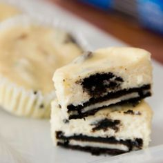 oreo cheesecake no bake . Oreo Dessert Recipes, Summer Dessert Recipes, Easy Baking Recipes, Cupcake Recipes, Easy Desserts, Delicious Desserts, Yummy Food, Health Desserts, Oreo Cheesecake Cups