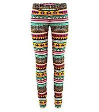 H Limited Edition SELL OUT Colored Aztec Print Jeans Size 8