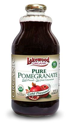 Lakewood Organic PURE Pomegranate Juice 32Ounce Bottles Pack of 6 * Click image for more details.Note:It is affiliate link to Amazon.