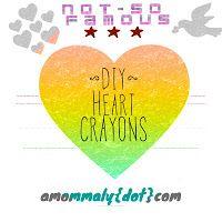 DIY Heart Crayons via amommaly.com