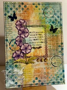 Anything Goes - Sue Carrington - Stamping Sue Style