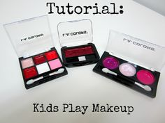 an easy DIY way to make pretend makeup for kiddos from 4Eighteen