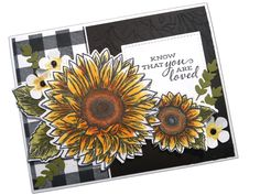 Sunflower Cards, Stamping Up Cards, Cards For Friends, Fall Cards, Your Cards, I Card, Thank You Cards, Cardmaking, Stampin Up