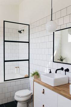 Small bathroom renovations 93238654772643697 - Modern master bath with floating vanity Source by anunblurredlady Diy Bathroom, Modern Bathroom Design, Bathroom Addition, Bathroom Flooring, Boho Bathroom, Bathroom Decor, Bathroom Makeover, Bathroom Interior Design, Bathroom Renovations