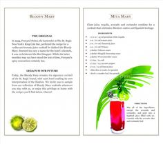 The Mita Mary: A Bloody Mary Recipe For Your Next Brunch! St. Regis Punta Mita
