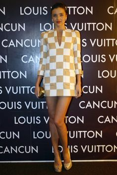 Miranda Kerr in Louis Vuitton