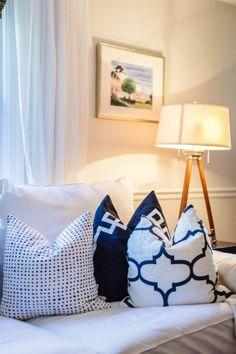 Playroom/guestroom pillows