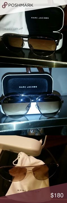 ebf6245170f4 Shop Men s Marc Jacobs Brown size OS Sunglasses at a discounted price at  Poshmark. Description