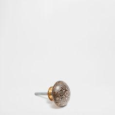 ENGRAVED METAL KNOB (PACK OF 2) - Knobs - Decoration | Zara Home Greece