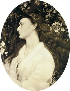 Alethea, by Julia Margaret Cameron. 1872