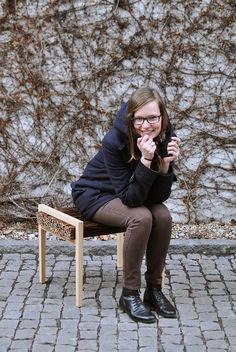 HALUZ  design by Tomas Vacek www.studiovacek.cz  A clean and straight line unites with wild and impenetrable branches. Simple beauty with sense for material.  In touch. In emotions. In a thought.  Haluz collection includes a bench and a rocking chair. Firm and flexible ash wood comes together with willow branches. Sophisticated rustic look fits modern interior excellently.