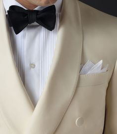 The white dinner jacket.