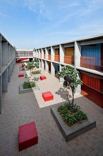 DPS Kindergarten School - Archkids. Arquitectura para niños. Architecture for kids. Architecture for children.