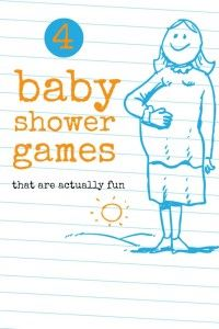 4 Baby Shower Games