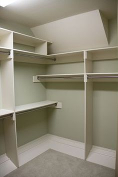 Storage & Closets Photos Sloped Ceiling Design, Pictures, Remodel, Decor and Ideas - page 5