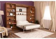 Pat rabatabil Dublu Sliding Suit System Furniture, Bed Furniture, Wall Folding Bed, Living Area, Living Spaces, Bed Unit, Hideaway Bed, Bed Wall, Murphy Bed