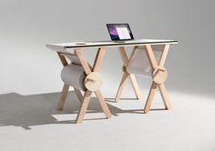 Analog Memory Desk by Kirsten Camara