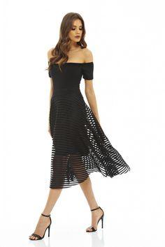 φούστα black ladder full skirt