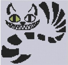 Cross Stitch Design Looking for your next project? You're going to love Cheshire Cat Cross Stitch Pattern by designer bracefacepatterns. Cross Stitch Fabric, Cross Stitching, Cross Stitch Embroidery, Learn Embroidery, Embroidery Patterns, Hand Embroidery, Cross Stitch Designs, Cross Stitch Patterns, Loom Patterns