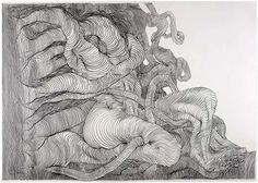 Carl Krull - Graphite on Paper