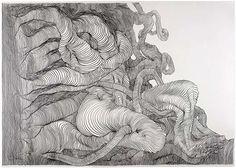 Carl Krull - Graphite on Paper