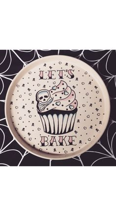 Sourpuss Lets Bake Platter | Blame Betty