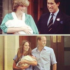 Royal Family...that was then, this is now.
