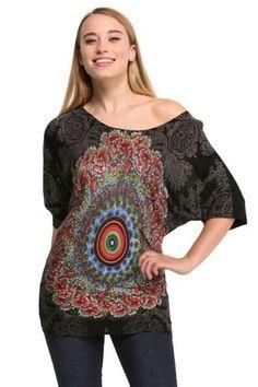 Desigual Mariland Short Sleeve Pullover 46J2103