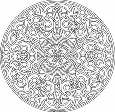 Coloring Pages Adults Geometric