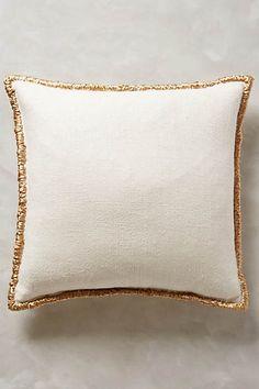 Raffia Embroidered Pillow