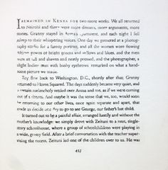 Bethany Collins on View August 29, 2015 – February 27, 2016.  Traditionally, epilogues are meant to bring closure to the narrative, a final summing up. This is how the myth repeats comprises multiple epilogues, ending passages, and final pages from narratives concerning race and identity. Linked through subject matter and intended to be read as one, the texts remain inscrutable and inconclusive.